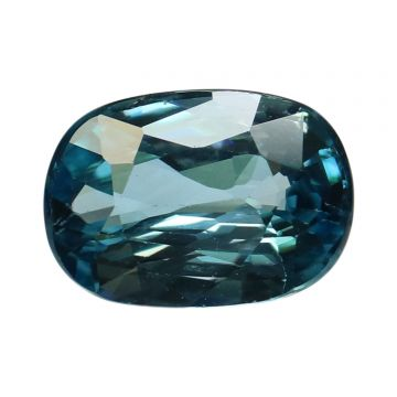 Natural Blue Zircon Cts 7.74 Ratti 8.51