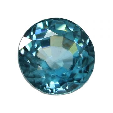 Natural Blue Zircon Cts 5.69 Ratti 6.26