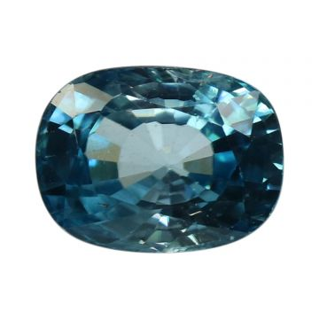 Natural Blue Zircon Cts 5.83 Ratti 6.41