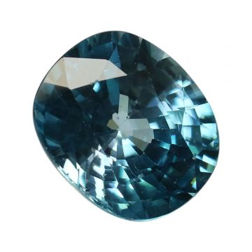 Natural Blue Zircon Cts 7.89 Ratti 8.68