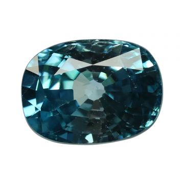Natural Blue Zircon Cts 5.85 Ratti 6.44