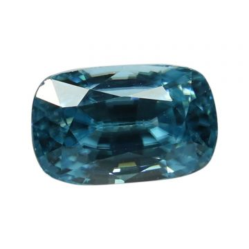 Natural Blue Zircon Cts 5.03 Ratti 5.53