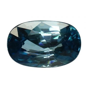 Natural Blue Zircon Cts 5.2 Ratti 5.72