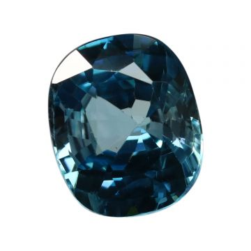Natural Blue Zircon Cts 5.06 Ratti 5.57