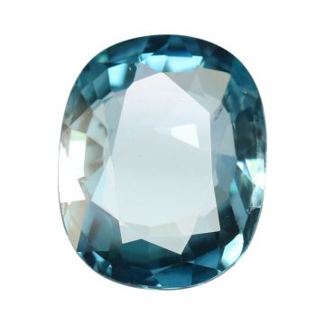 Natural Blue Zircon Cts 8.88 Ratti 9.77