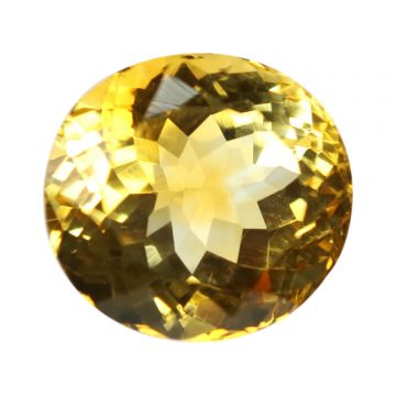 Natural Citrin (Sunhela) Gemstone Cts 8.79 Ratti 9.67