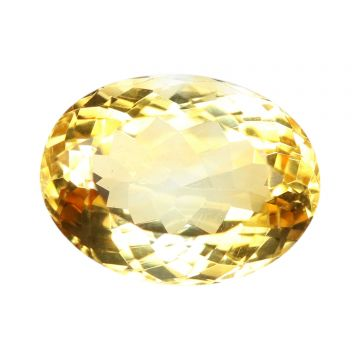 Natural Citrin (Sunhela) Gemstone Cts 6.08 Ratti 6.69