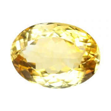 Natural Citrin (Sunhela) Gemstone Cts 6.56 Ratti 7.22