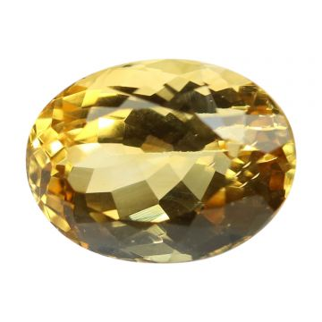 Natural Citrin (Sunhela) Gemstone Cts 6.33 Ratti 6.96
