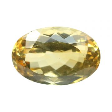 Natural Citrin (Sunhela) Gemstone Cts 5.99 Ratti 6.59