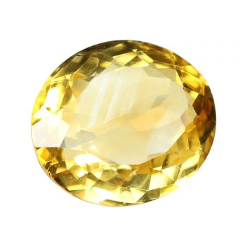 Natural Citrin (Sunhela) Gemstone Cts 4.48 Ratti 4.93