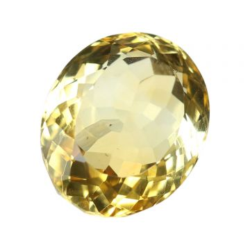 Natural Citrin (Sunhela) Gemstone Cts 6.67 Ratti 7.34