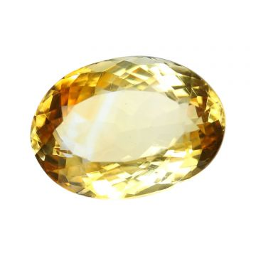 Natural Citrin (Sunhela) Gemstone Cts 5.9 Ratti 6.49