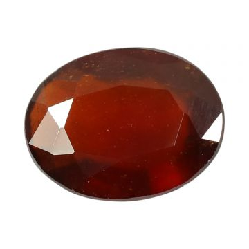 Natural Hessonite (Gomed) Cts 7.96 Ratti 8.76
