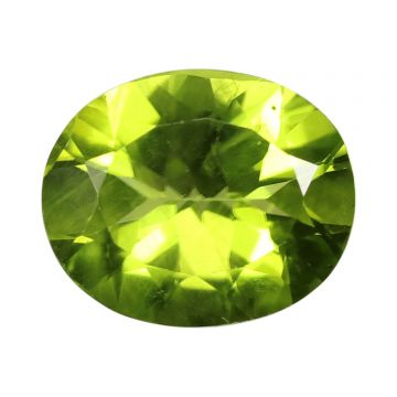 Natural Peridot Loose Gemstone ITLGJ Certified Cts 4.27 Ratti 4.7