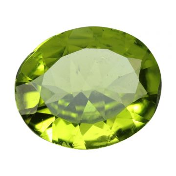 Natural Peridot Loose Gemstone ITLGJ Certified Cts 4.57 Ratti 5.03