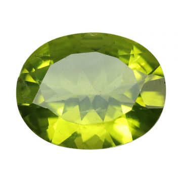 Natural Peridot Loose Gemstone ITLGJ Certified Cts 4.41 Ratti 4.85