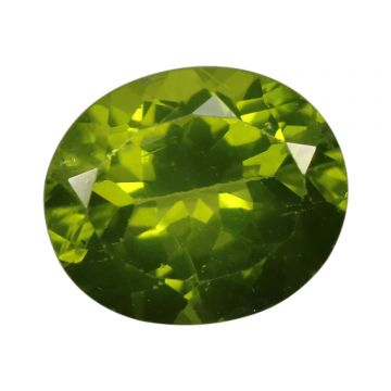 Natural Peridot Loose Gemstone ITLGJ Certified Cts 5.92 Ratti 6.51