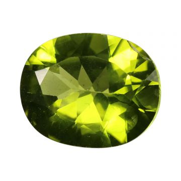 Natural Peridot Loose Gemstone ITLGJ Certified Cts 4.48 Ratti 4.93