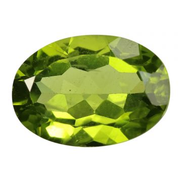 Natural Peridot Loose Gemstone ITLGJ Certified Cts 5.27 Ratti 5.8