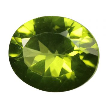 Natural Peridot Loose Gemstone ITLGJ Certified Cts 4.29 Ratti 4.72