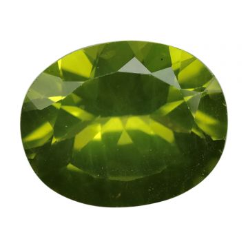 Natural Peridot Loose Gemstone ITLGJ Certified Cts 4.9 Ratti 5.39