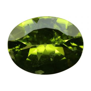 Natural Peridot Loose Gemstone ITLGJ Certified Cts 6.25 Ratti 6.88