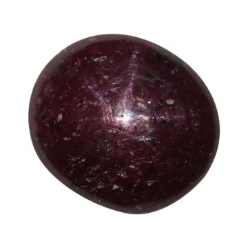 Natural Star Ruby (Suryakant Mani) Cts 12.7 Ratti 13.97