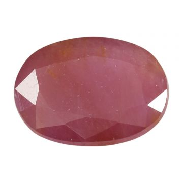 Natural Ruby (Manak) Non Heated Non Treated Cts 6.25 Ratti 6.87
