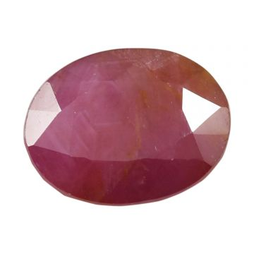 Natural Ruby (Manak) Non Heated Non Treated Cts 6.6 Ratti 7.26