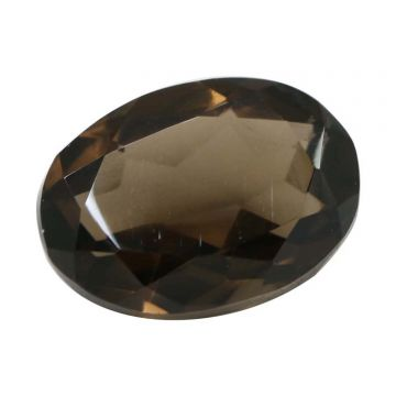 Natural Smoky Quartz (Topaz) Gemstone Cts. 6.12 Ratti 6.73