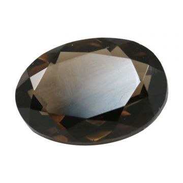 Natural Smoky Quartz (Topaz) Gemstone Cts. 5.64 Ratti 6.2