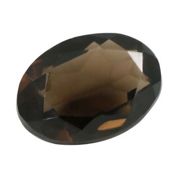 Natural Smoky Quartz (Topaz) Gemstone Cts. 5.62 Ratti 6.18