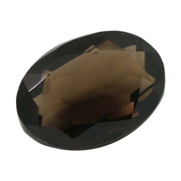 Natural Smoky Quartz (Topaz) Gemstone Cts. 5.68 Ratti 6.25
