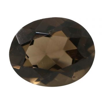 Natural Smoky Quartz (Topaz) Gemstone Cts. 4.72 Ratti 5.19