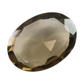 Natural Smoky Quartz (Topaz) Gemstone Cts. 7.74 Ratti 8.51