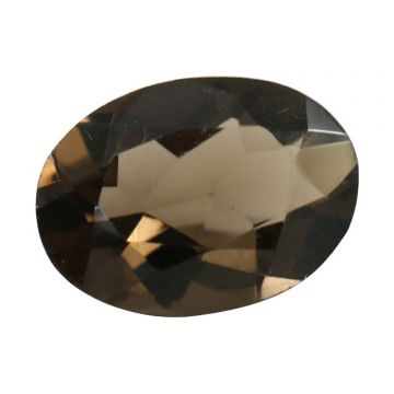 Natural Smoky Quartz (Topaz) Gemstone Cts. 4.95 Ratti 5.45