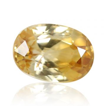 Natural Yellow Zircon AGR Lab Certified  Cts 5.24 Ratti 5.76