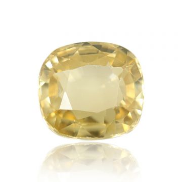 Natural Yellow Zircon AGR Lab Certified  Cts 4.06 Ratti 4.47
