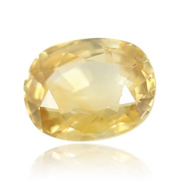 Natural Yellow Zircon AGR Lab Certified  Cts 5.16 Ratti 5.68