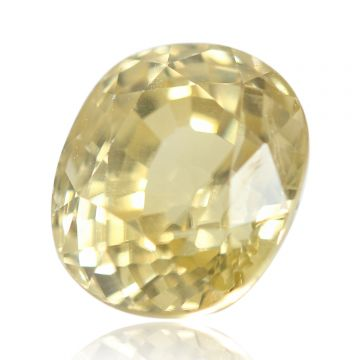 Natural Yellow Zircon AGR Lab Certified  Cts 4.9 Ratti 5.39
