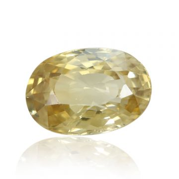 Natural Yellow Zircon AGR Lab Certified  Cts 4.93 Ratti 5.42