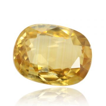 Natural Yellow Zircon AGR Lab Certified  Cts 4.75 Ratti 5.23