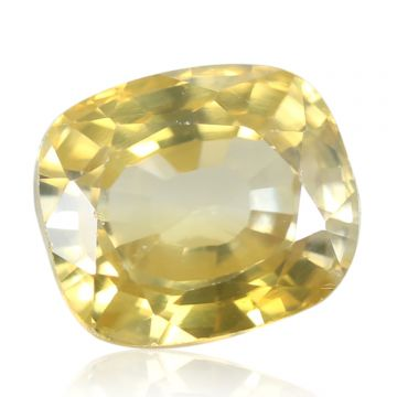 Natural Yellow Zircon AGR Lab Certified  Cts 5.14 Ratti 5.65