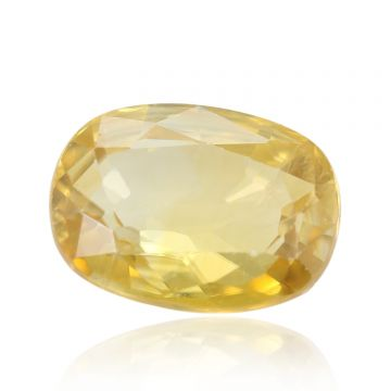 Natural Yellow Zircon AGR Lab Certified  Cts 4.66 Ratti 5.13