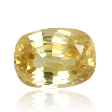 Natural Yellow Zircon AGR Lab Certified  Cts 4.2 Ratti 4.62