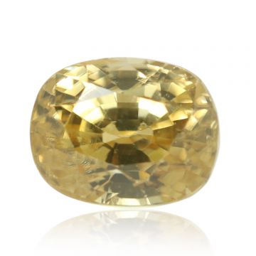 Natural Yellow Zircon AGR Lab Certified  Cts 4.72 Ratti 5.19