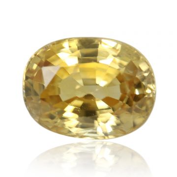 Natural Yellow Zircon AGR Lab Certified  Cts 4.08 Ratti 4.49