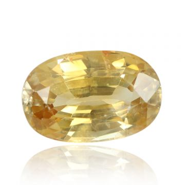 Natural Yellow Zircon AGR Lab Certified  Cts 4.15 Ratti 4.57