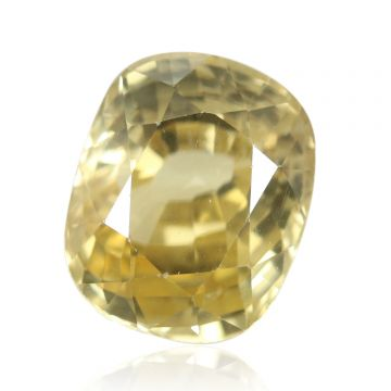 Natural Yellow Zircon AGR Lab Certified  Cts 4.95 Ratti 5.45